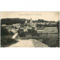 carte postale ancienne 95 VILLERS EN ARTHIES. Vue sur le Village 1936