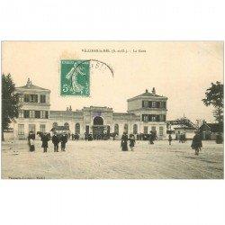 carte postale ancienne 95 VILLIERS LE BEL. La Gare