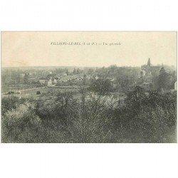 carte postale ancienne 95 VILLIERS LE BEL. Vue sur la Ville