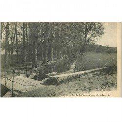 carte postale ancienne K. 95 MAGNY-EN-VEXIN. L'Aubette près de la Laverie
