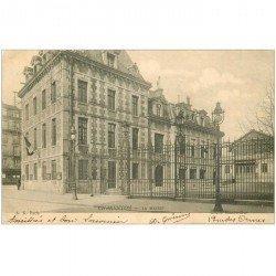 carte postale ancienne 94 CHARENTON LE PONT. La Mairie 1903. Adressée au comédien Ameline