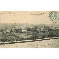carte postale ancienne 94 CHAMPIGNY SUR MARNE. Panorama de la Ville 1906