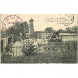 carte postale ancienne 94 CHAMPIGNY SUR MARNE. Le Monument de la défense 1870-71 en 1915