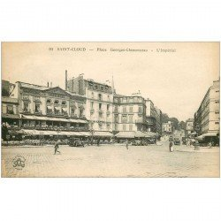 carte postale ancienne K. 92 SAINT-CLOUD. Dancing Restaurant l'Impérial Place Georges Clémenceau