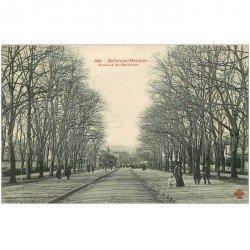 carte postale ancienne K. 92 BELLEVUE-MEUDON. Avenue de Bellevue 1905