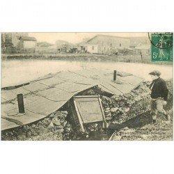 Inondation et Crue de 1910. ISSY-LES-MOULINEAUX 92. Maison écroulée