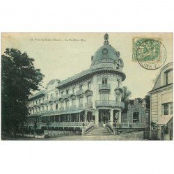 carte postale ancienne 92 SAINT CLOUD. Restaurant le Pavillon Bleu vers 1905