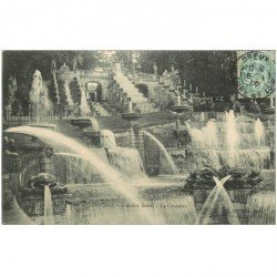 carte postale ancienne 92 SAINT CLOUD. Parc Cascade des Grandes Eaux 1906