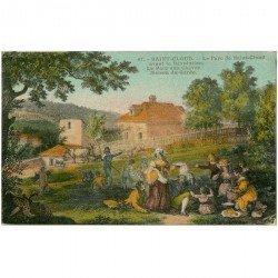 carte postale ancienne 92 SAINT CLOUD. Maison du Garde au Parc aux Chèvres