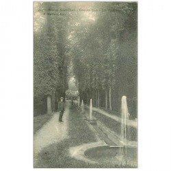 carte postale ancienne 92 SAINT CLOUD. Les Goulottes aux Grandes eaux 1904