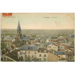carte postale ancienne 92 RUEIL. Panorama 1910
