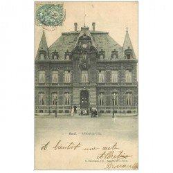 carte postale ancienne 92 RUEIL. Hôtel de Ville 1906