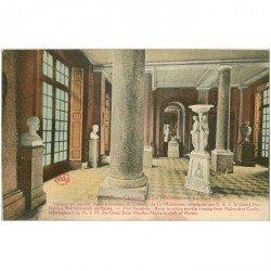carte postale ancienne 92 RUEIL. Château de la Malmaison le Vestibule