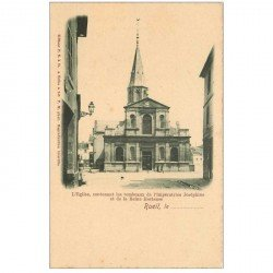 carte postale ancienne 92 RUEIL MALMAISON. Eglise avec Tombeaux Impératrice et Reine Hortense