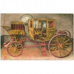 carte postale ancienne 92 RUEIL MALMAISON. Château l'Opale voiture Carosse en couleur