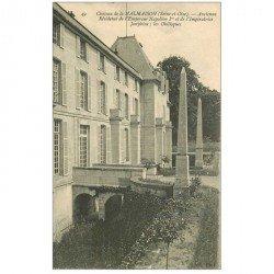 carte postale ancienne 92 RUEIL MALMAISON. Château ancienne Résidence Reine Empereur les Obélisques