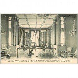 carte postale ancienne 92 RUEIL MALMAISON. Château Salon de Musique