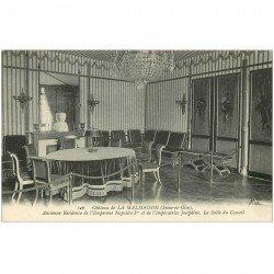 carte postale ancienne 92 RUEIL MALMAISON. Château Salle du Conseil