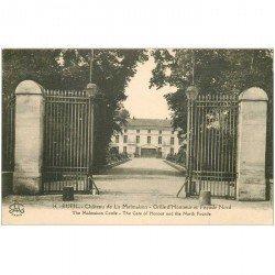 carte postale ancienne 92 RUEIL MALMAISON. Château Grille d'Honneur