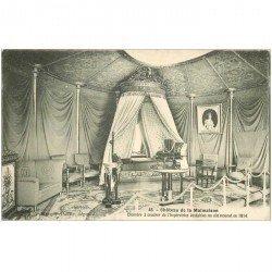 carte postale ancienne 92 RUEIL MALMAISON. Château Chambre à coucher Impératrice 1910