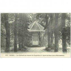 carte postale ancienne 92 RUEIL MALMAISON. Château Cabinet de travail Empereur dans Parc