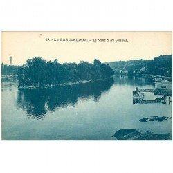 carte postale ancienne 92 MEUDON. La Seine et les Coteaux
