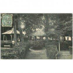 carte postale ancienne 92 MEUDON. Forêt. Ermitage de Villebon les Bosquets 1905 avec son Personnel