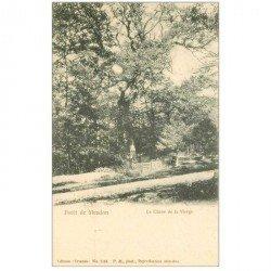carte postale ancienne 92 MEUDON. Forêt, le Chêne de la Vierge