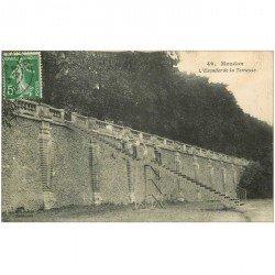 carte postale ancienne 92 MEUDON. Escalier de la Terrasse 1917