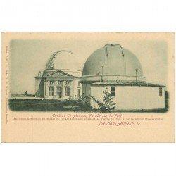 carte postale ancienne 92 MEUDON. Château Observatoire. Carte précurseur vers 1900