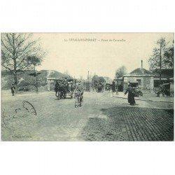 carte postale ancienne 92 LEVALLOIS PERRET. Porte de Courcelles