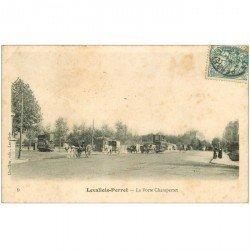 carte postale ancienne 92 LEVALLOIS PERRET. Porte Champerret 1906