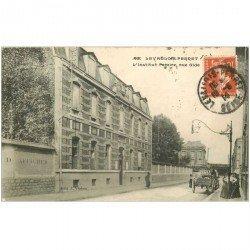 carte postale ancienne 92 LEVALLOIS PERRET. Institut Pereire rue Gide 1914