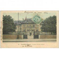 carte postale ancienne 92 LEVALLOIS PERRET. Herford British Hospital 1907