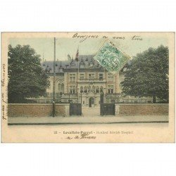 carte postale ancienne 92 LEVALLOIS PERRET. Herford British Hospital 1907