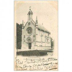 carte postale ancienne 92 LA MALMAISON. Chapelle ancienne Résidence de Napoléon Ier vers 1900