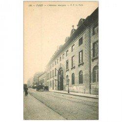 carte postale ancienne 92 CLICHY. L'Hôpital Beaujon vers 1900
