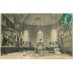carte postale ancienne 92 CLICHY. Chapelle Notre Dame des Anges