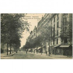 carte postale ancienne 92 CLICHY. Boulevard de Lorraine