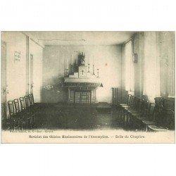 carte postale ancienne 92 BOURG LA REINE. Salle Chapître Noviciat des Oblates Missionnaires Assomption