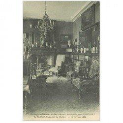 carte postale ancienne 92 BOURG LA REINE. Cabinet de Travail du Maître Theuriet
