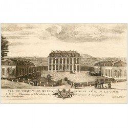 carte postale ancienne 92 BELLEVUE. Le Château de Pompadour