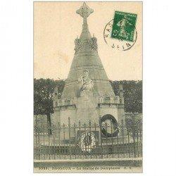 carte postale ancienne 92 BAGNEUX. Statue Dampierre 1912