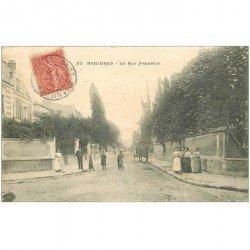 carte postale ancienne 92 ASNIERES SUR SEINE. Rue Franklin 1907