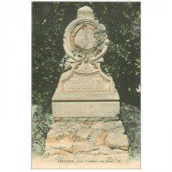 carte postale ancienne 92 ASNIERES SUR SEINE. Cimetière des Chiens. Loulou