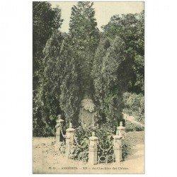 carte postale ancienne 92 ASNIERES SUR SEINE. Cimetière des Chiens. HD XII