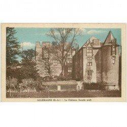 carte postale ancienne 04 ALLEMAGNE. Le Château 1933