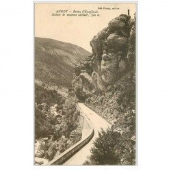 carte postale ancienne 04 ANNOT. Roches d'Escaffarels