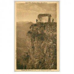 carte postale ancienne 04 DIGNE-LES-BAINS. Chapelle de Cousson 1932