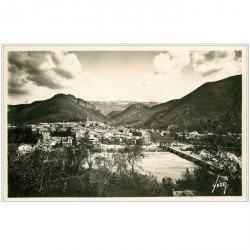carte postale ancienne 04 DIGNE-LES-BAINS. La Bléone 1937. Carte émaillographie